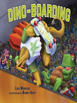 cover image of Dino-Boarding